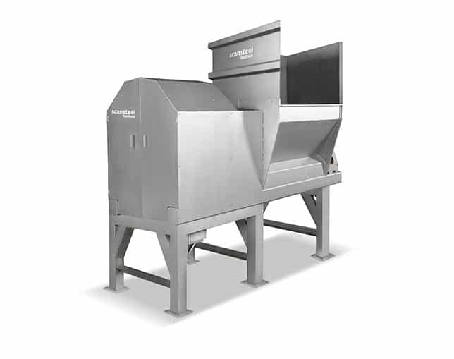 scansteel foodtech whole pallet crusher